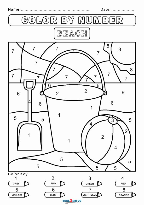Free Color by Numbers Worksheets Ideas Free Color by Number Worksheets