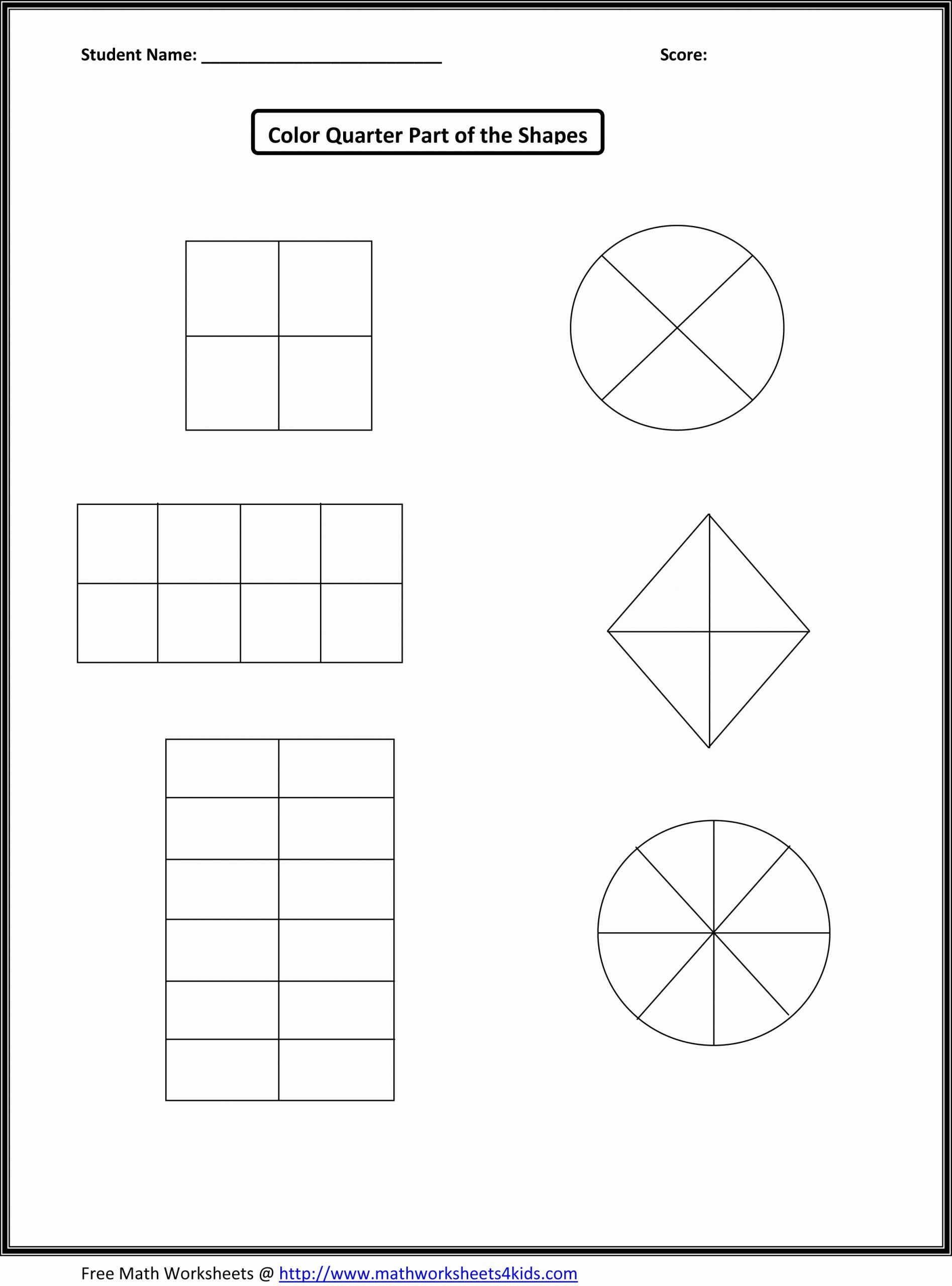 Free First Grade Fraction Worksheets Fresh This Would Work for First Grade Fraction Number Sense