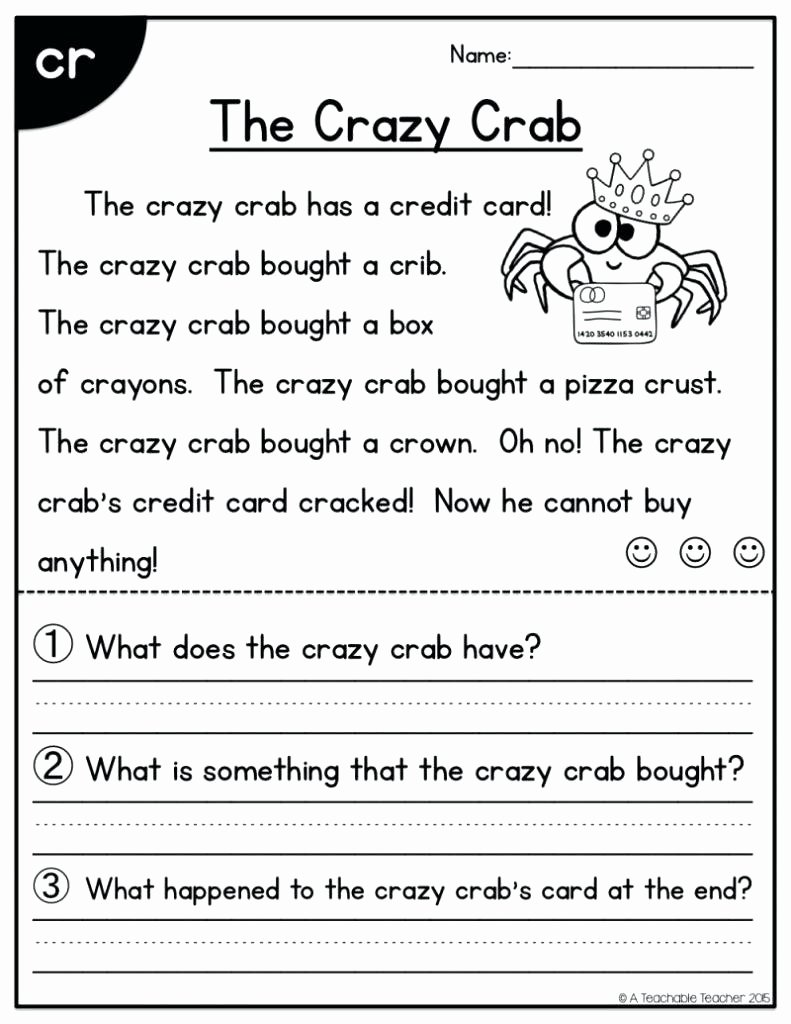 Free First Grade Reading Worksheets Fresh 57 Tremendous 1st Grade Reading Prehension Activities