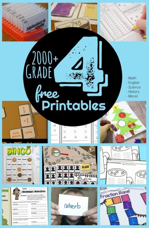 Free Fourth Grade Science Worksheets Free Free 4th Grade Worksheets