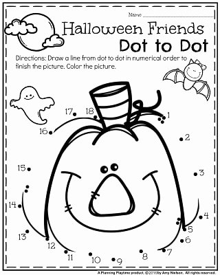 Free Kindergarten Halloween Worksheets Printable Best Of October Preschool Worksheets