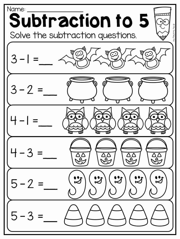 Free Kindergarten Halloween Worksheets Printable Ideas Kindergarten Halloween Worksheet Pack atividades Matemática