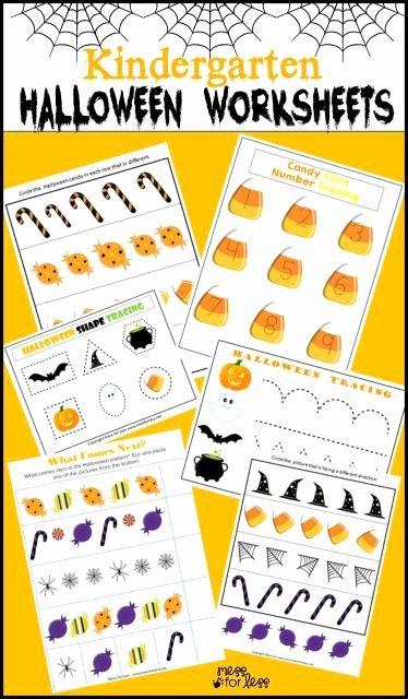 Free Kindergarten Halloween Worksheets Printable New Free Kindergarten Halloween Worksheets