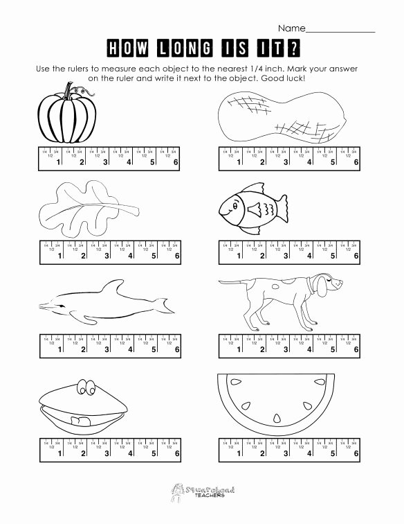 Free Measurement Worksheets Grade 1 Lovely Measurement Practice 2
