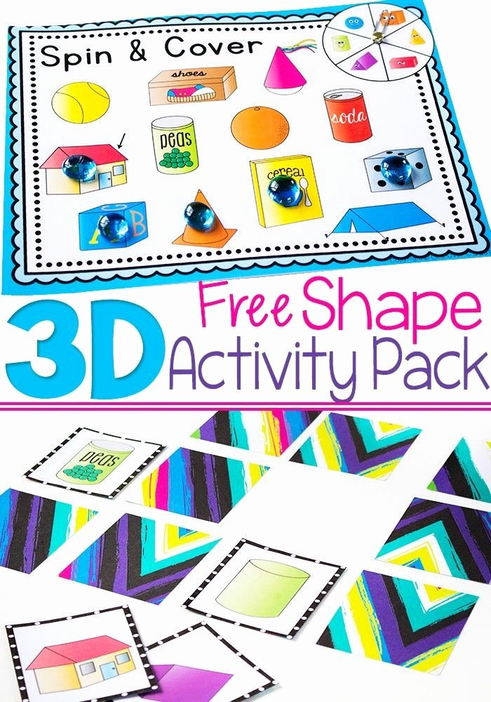 Free Printable 3d Shapes Worksheets Free 3d Shapes Free Printable Activities