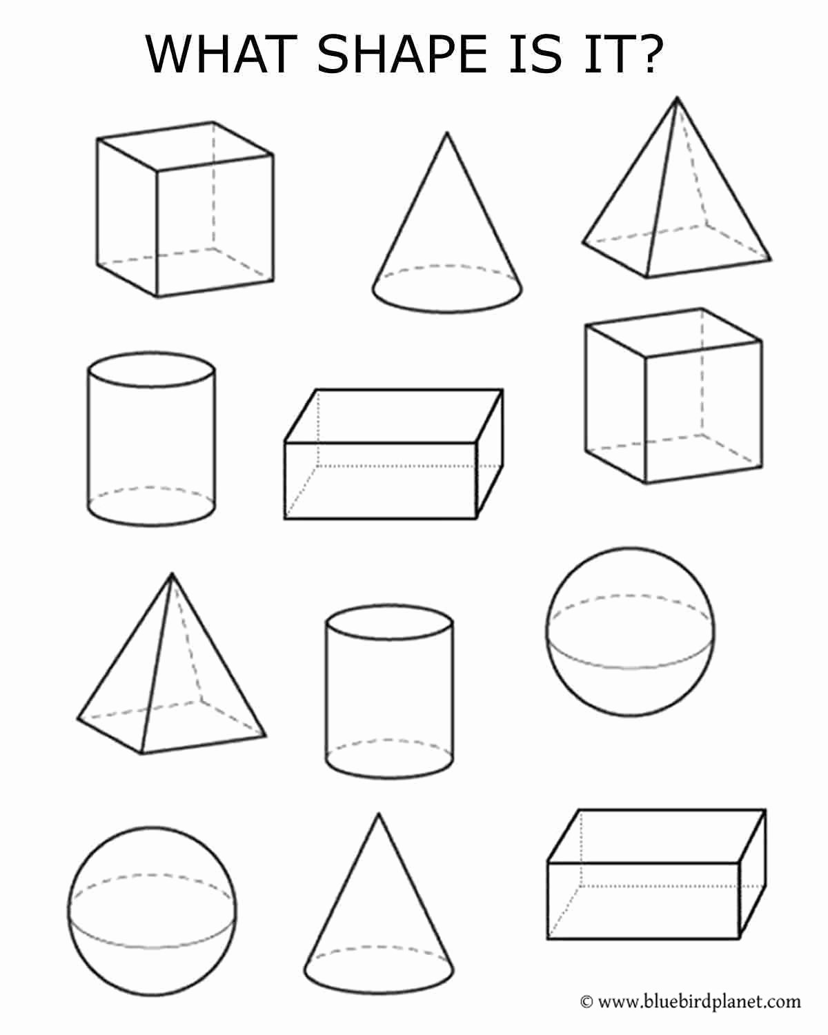 Free Printable 3d Shapes Worksheets New Free Printables for Kids