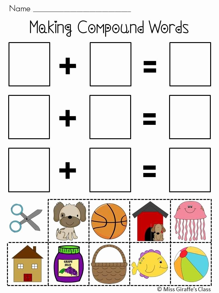 Free Printable Compound Word Worksheets top Pound Words Worksheets and Activities Mega Pack