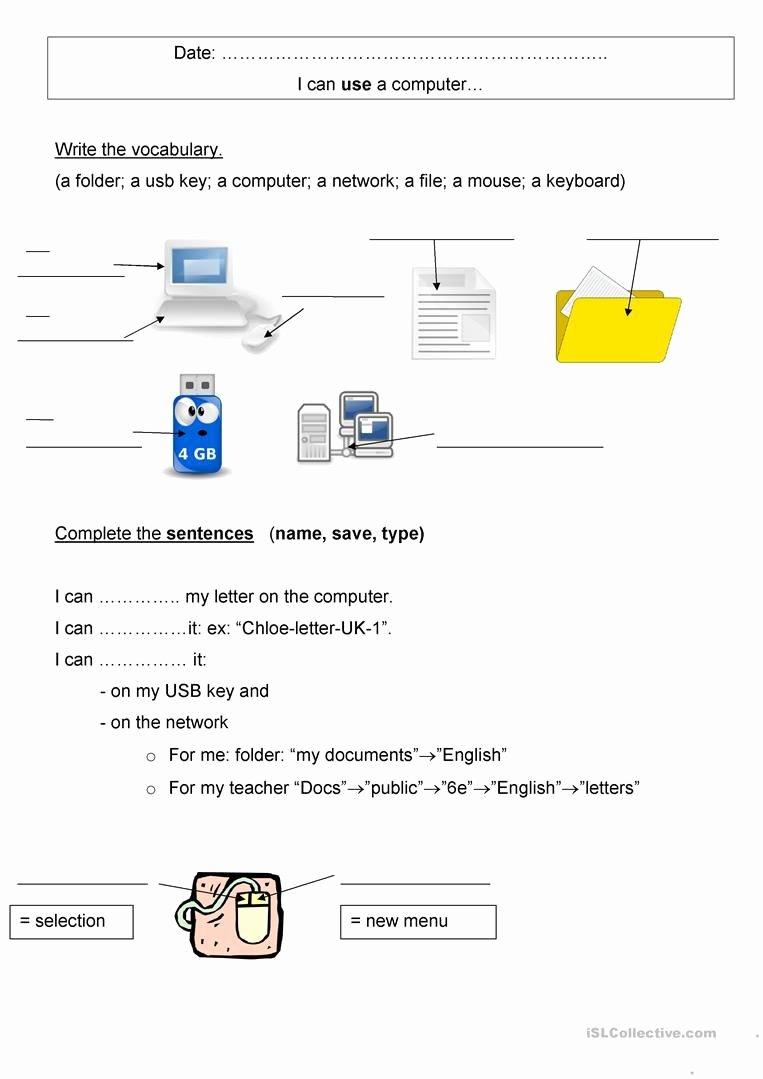Free Printable Computer Keyboarding Worksheets Best Of Free Printable Puter Keyboarding Worksheets