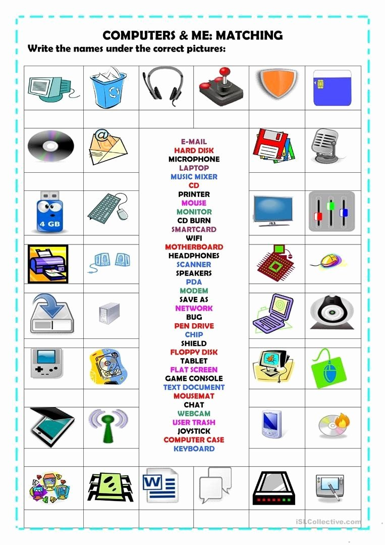 Free Printable Computer Keyboarding Worksheets Fresh Free Printable Puter Keyboarding Worksheets Puters