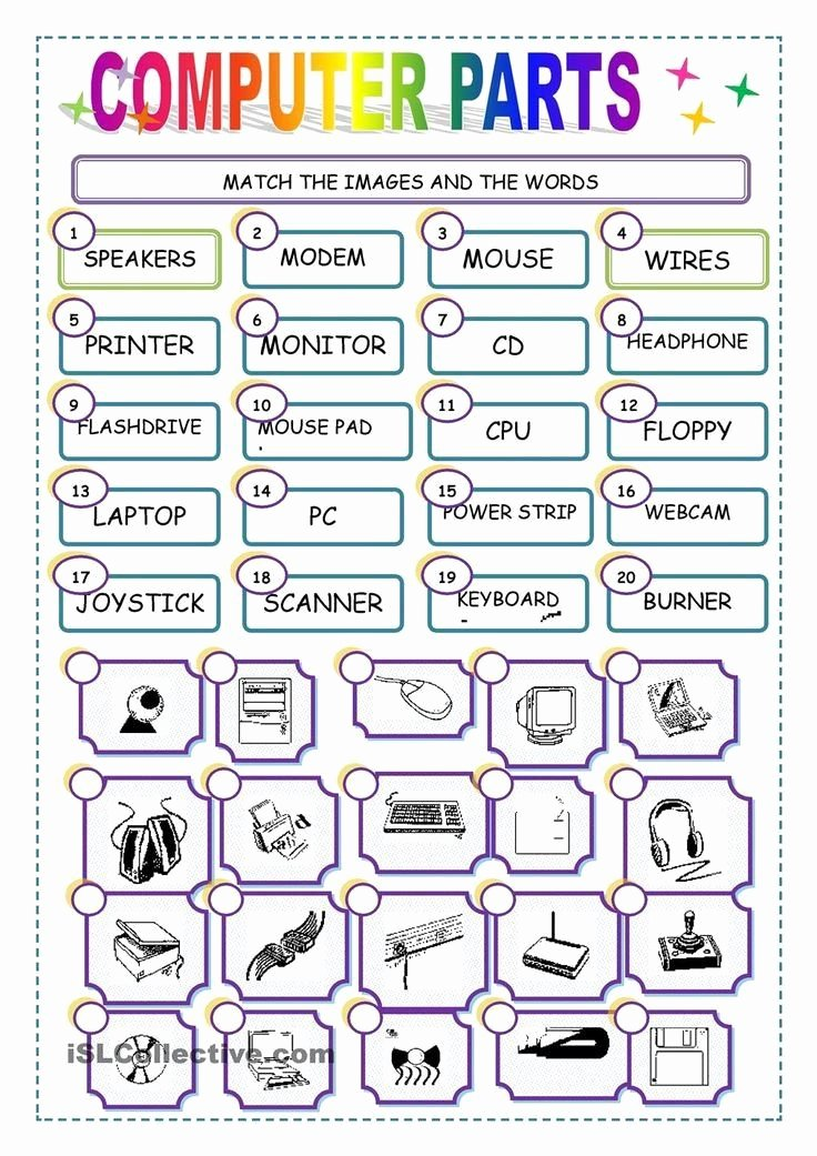 Free Printable Computer Keyboarding Worksheets Printable Free Printable Puter Worksheets 28 [ Puter Lesson