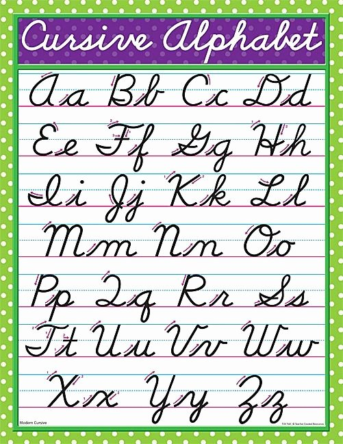 Free Printable Cursive Alphabet Chart New Worksheets Cursive Great Have Look This Handwriting Post