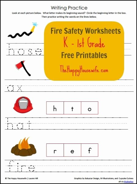 Free Printable Fire Safety Worksheets Free Fire Safety Worksheets Free Printables the Happy