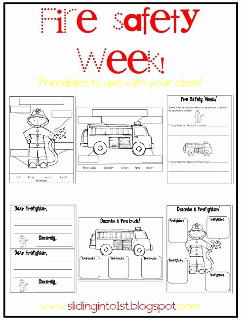 Free Printable Fire Safety Worksheets Printable Halloween Fun & Fire Safety