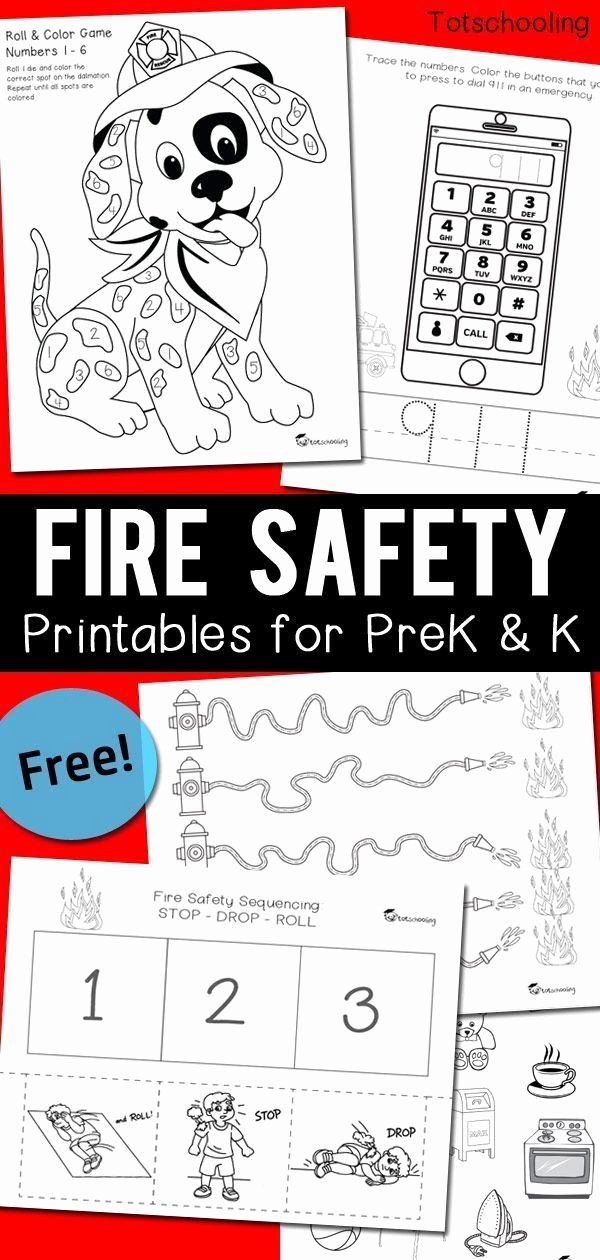 Free Printable Fire Safety Worksheets top Pin On Printable Worksheet Template