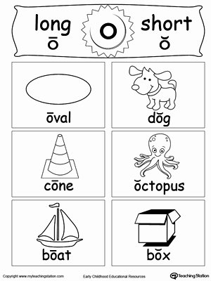 Free Printable Long Vowel Worksheets Lovely Short and Long Vowel Flashcards O