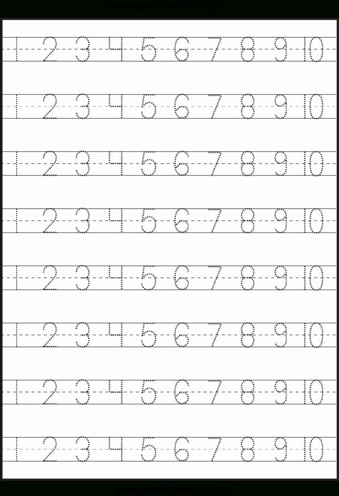 Free Printable Number Tracing Worksheets Free Number Tracing Worksheet Generator Printable Numbers