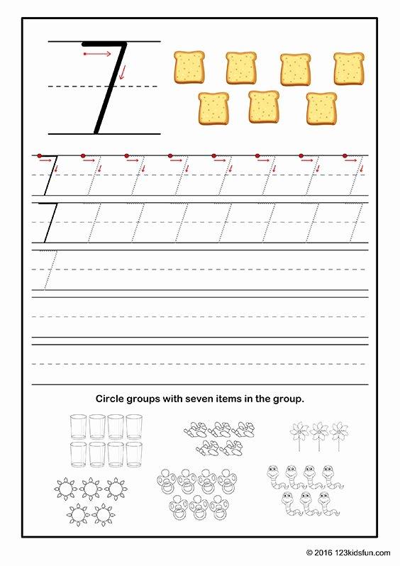 Free Printable Number Tracing Worksheets Lovely Free Printable Number Tracing Worksheet for Preschoolers