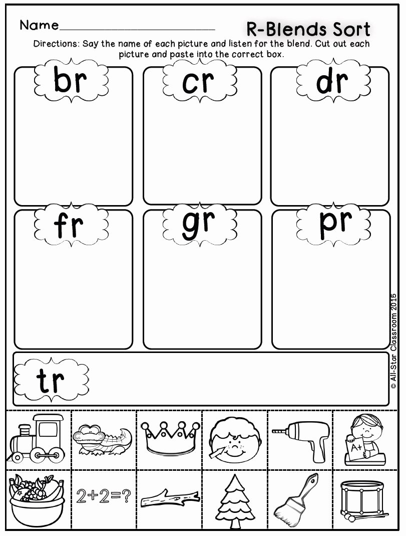 Free Printable R Blends Worksheets Lovely Blends sorts Palavras Fonoaudiologia Worksheets Looking for