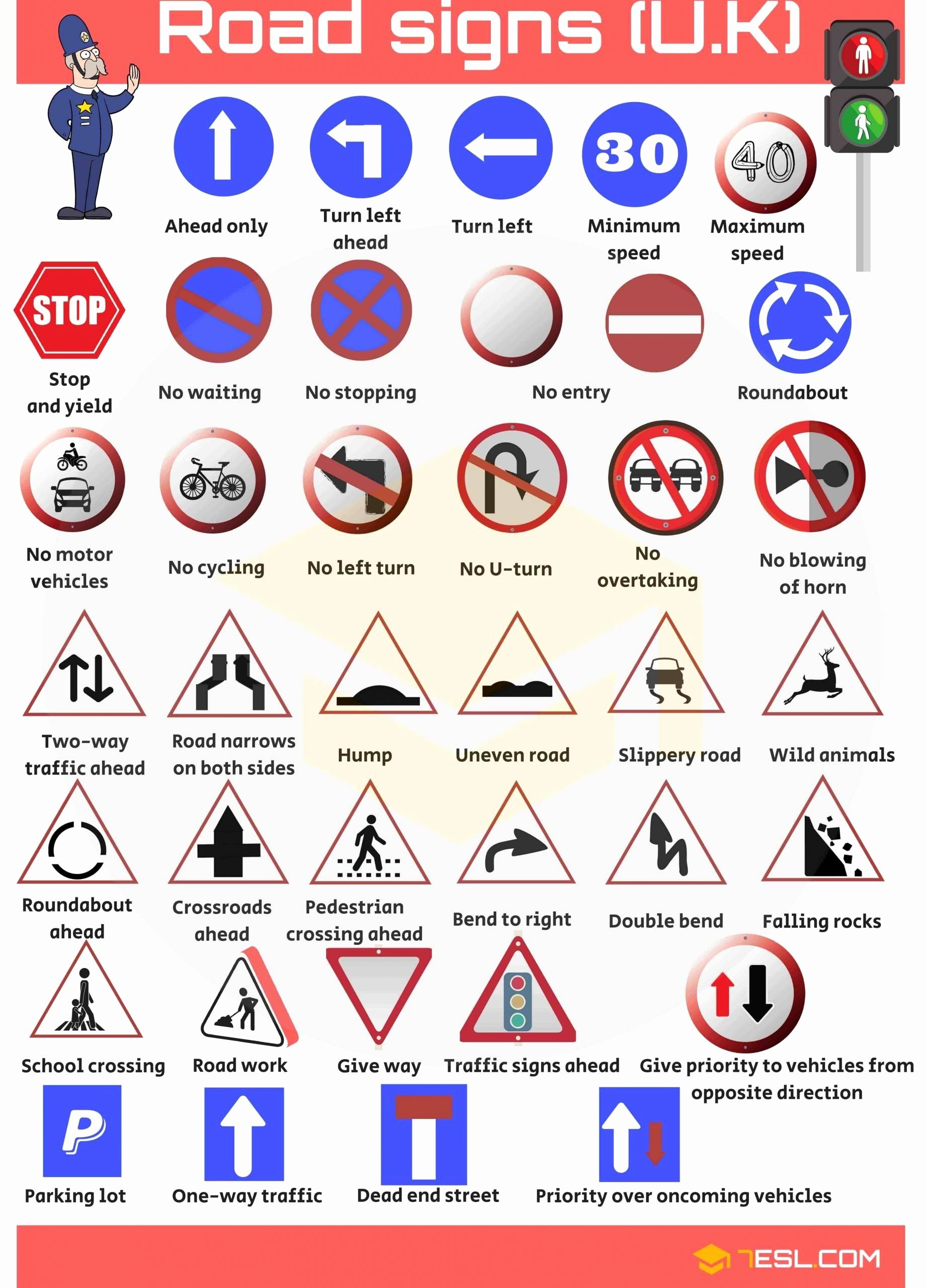 Free Printable Safety Signs Worksheets Free Safety Signs Worksheets for Kindergarten Road Signs