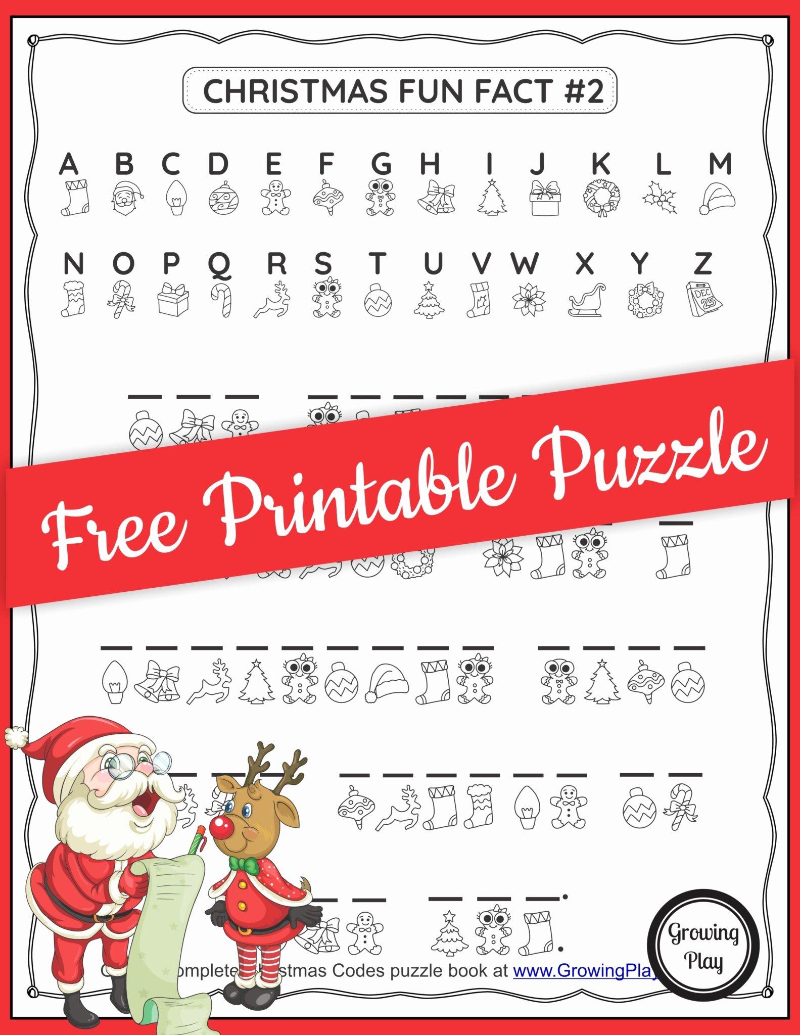 Free Printable Secret Code Worksheets Kids Christmas Secret Code Worksheet Free Printable Growing Play