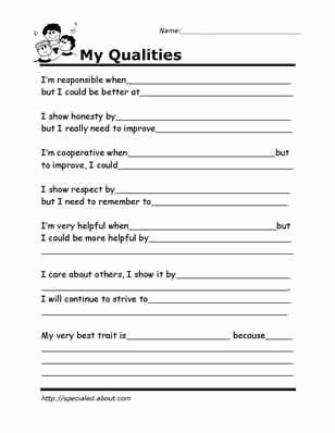 Free Printable social Skills Worksheets Kids Printable Worksheets for Kids to Help Build their social