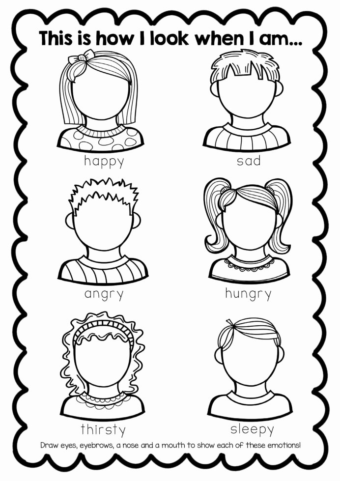 Free Printable social Skills Worksheets Printable Coloring Pages Math Worksheets for Elementary Students