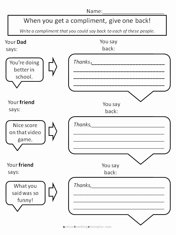 Free Printable social Skills Worksheets Printable Cool Math 5u Self Sabotaging Behaviors Worksheets social