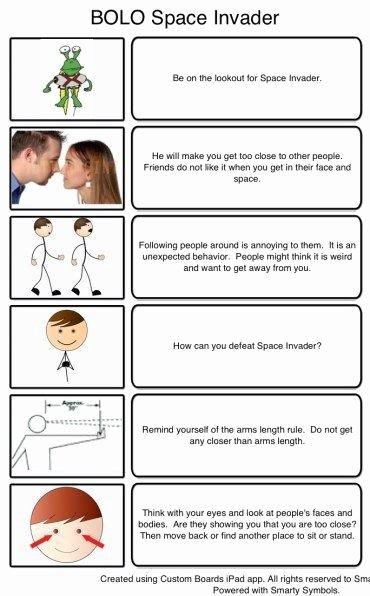 Free Printable social Stories Worksheets Ideas All Worksheets Personal Space social Story Worksheets Week