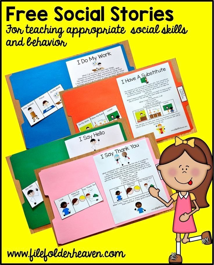 Free Printable social Stories Worksheets Kids Free Printable social Stories Worksheets Free Printable