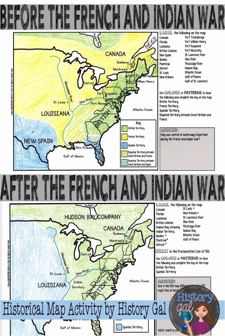 French and Indian War Worksheet Fresh French and Indian War Worksheet Answers Promotiontablecovers