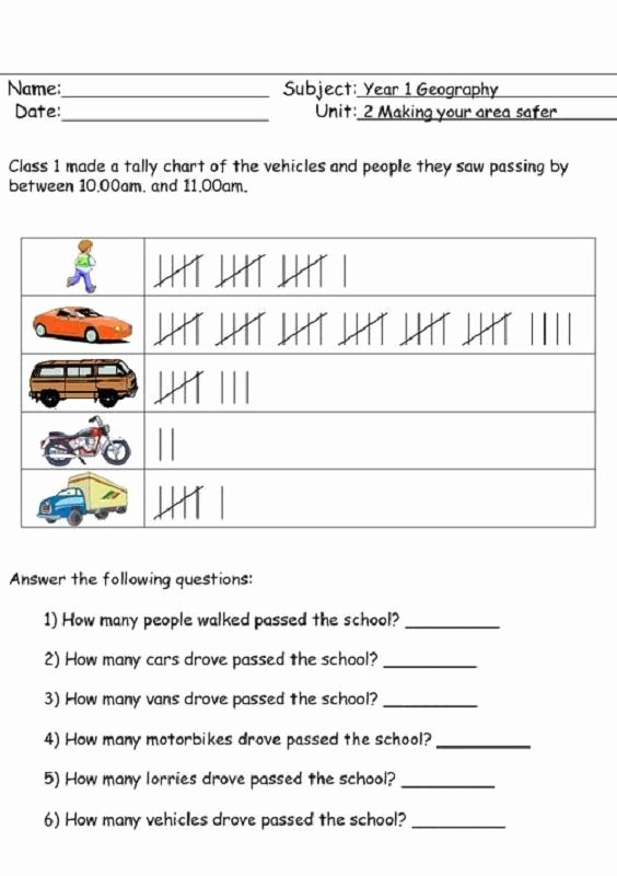 Frequency Table Worksheets 3rd Grade top Tally Charts Ks2 Worksheets