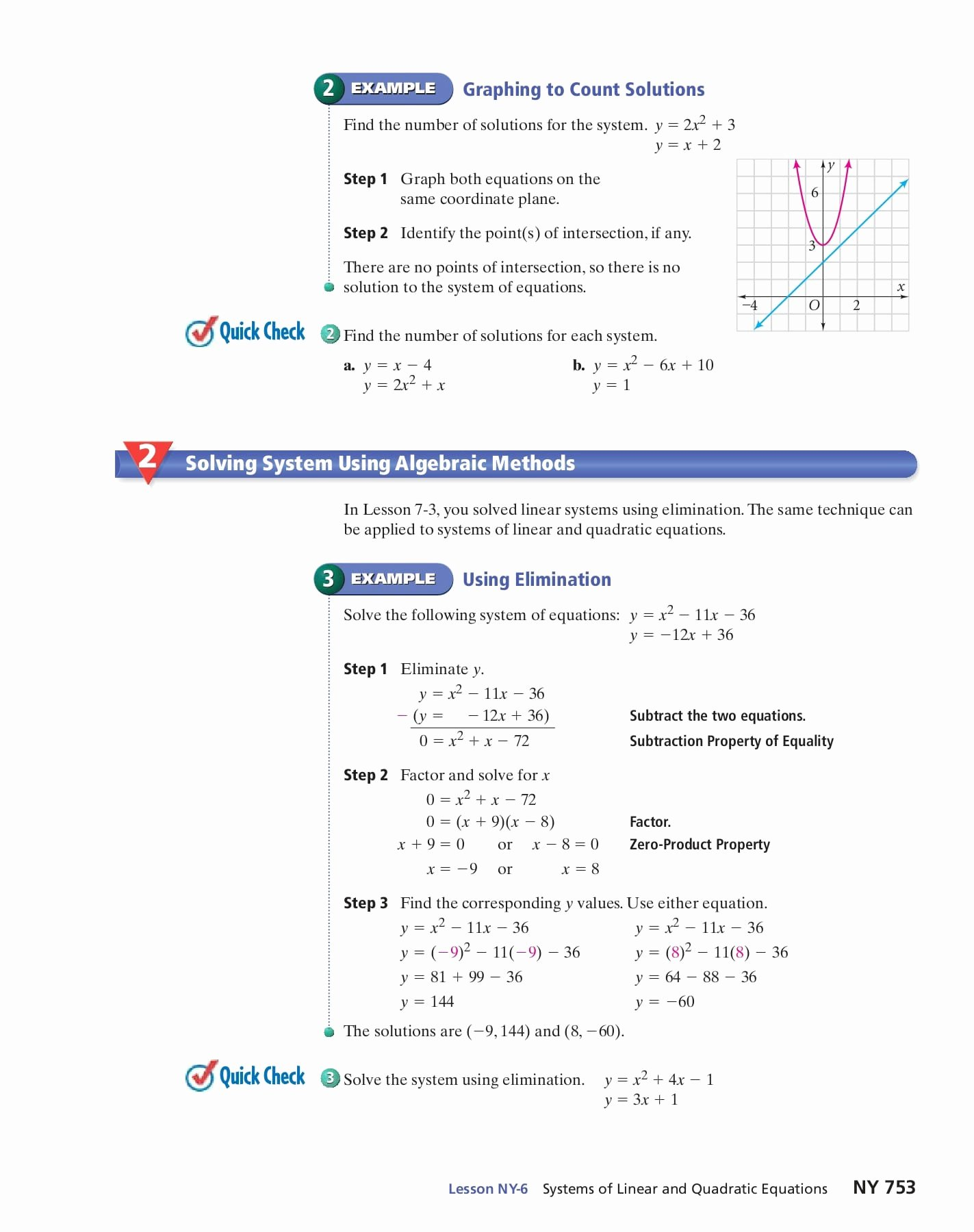 From Linear to Quadratic Worksheet Inspirational Linear Quadratic Systems Worksheet