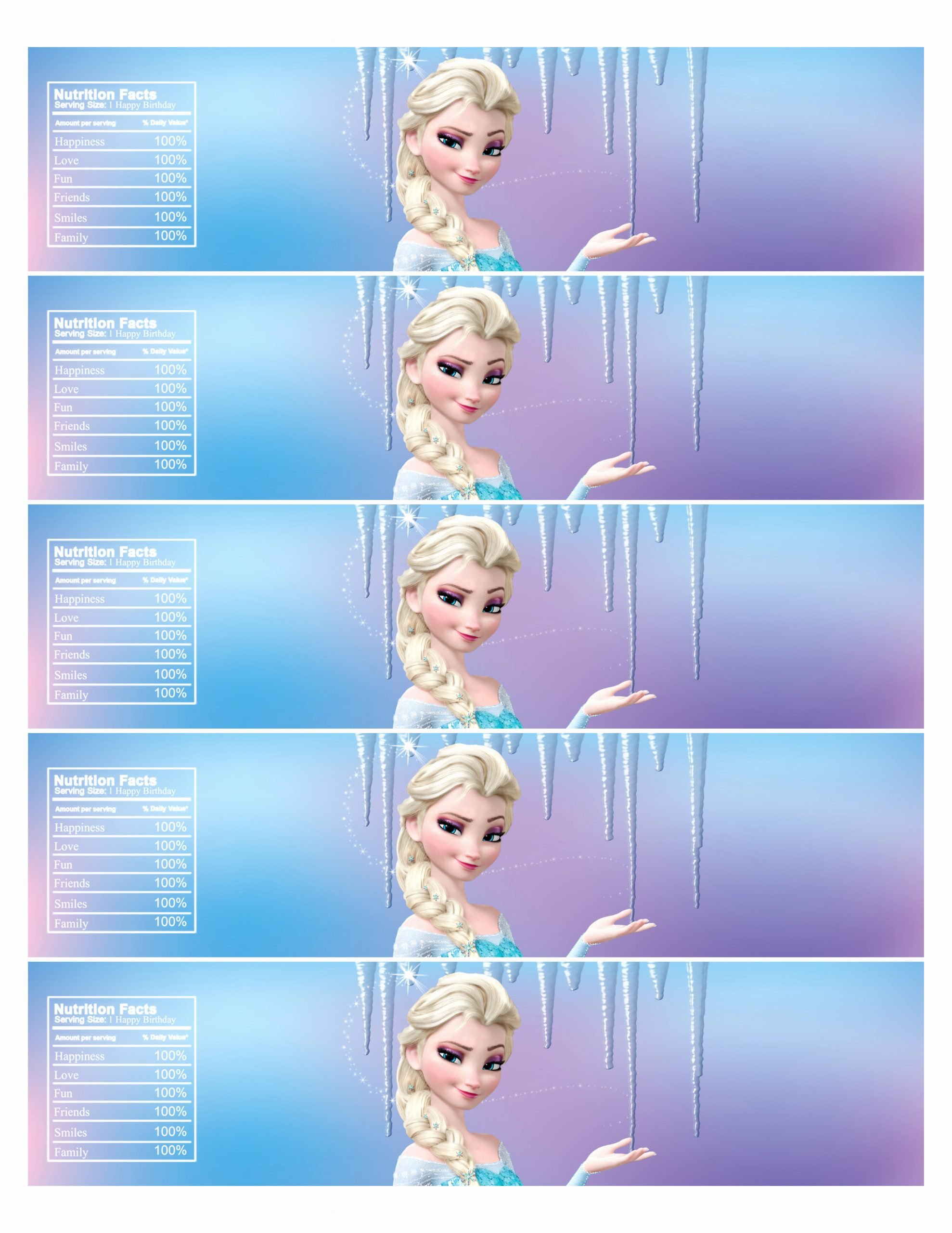 Frozen Free Printable Food Labels Ideas 10 Best Of Frozen Free Printable Label Templates