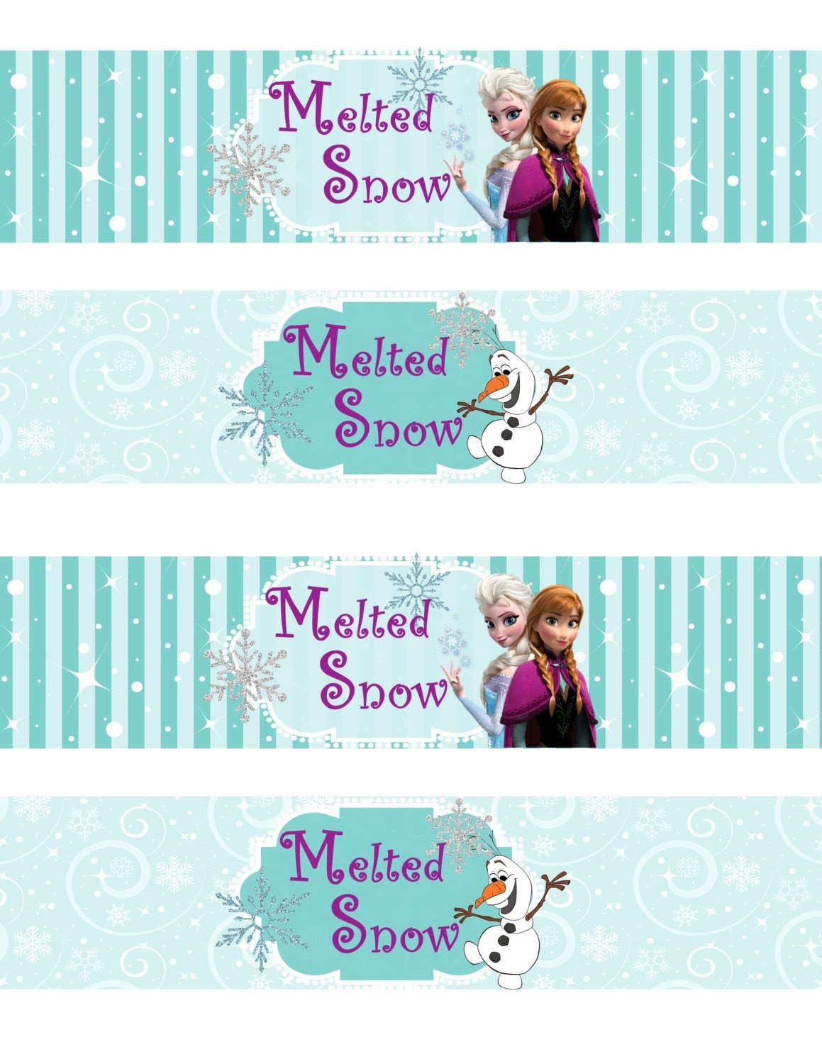 Frozen Free Printable Food Labels Lovely Free Printable Frozen Labels Oh My Fiesta In English