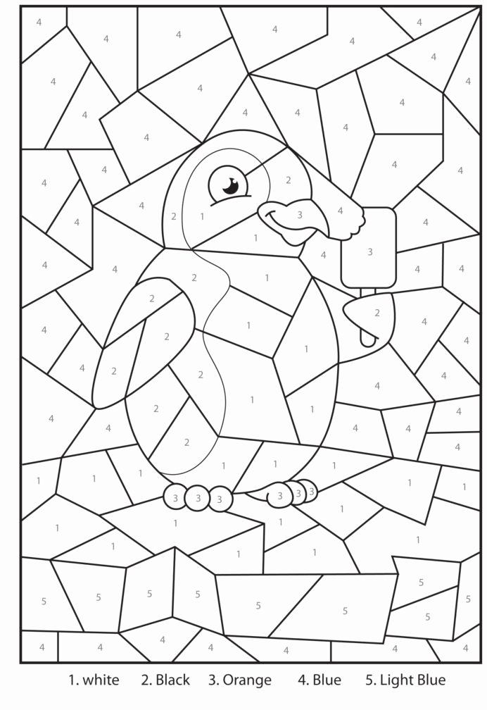 Fun Multiplication Worksheets Grade 3 Fresh Coloring Free Printable Penguin at the Zoo Colour by