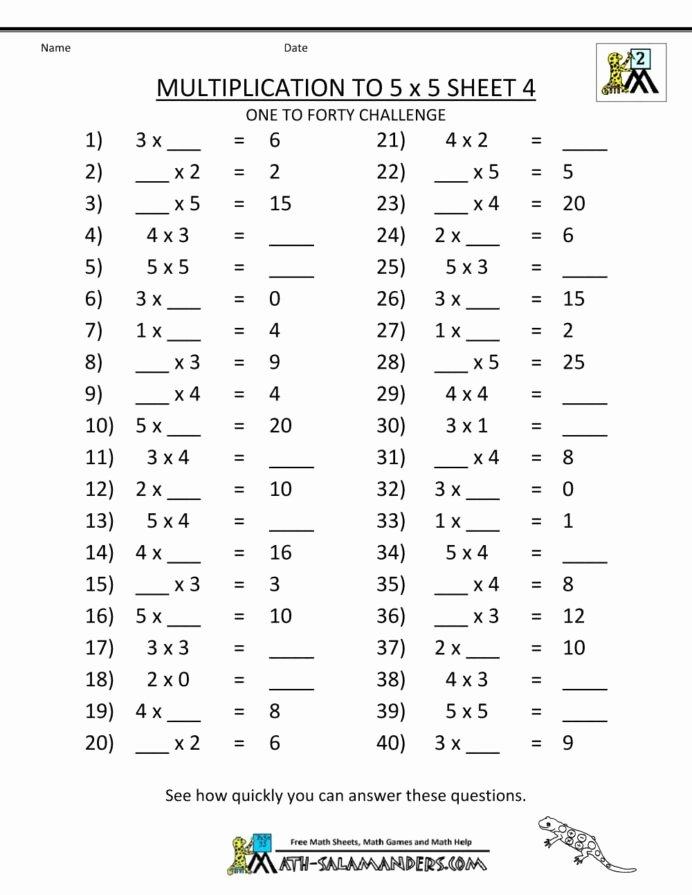 Fun Multiplication Worksheets Grade 3 Fresh Multiplication Worksheets Grade 3rd Math Fun for Preschool