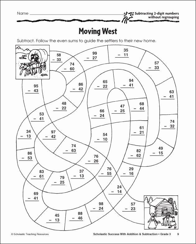 Fun Subtraction with Regrouping Worksheets top Subtraction with Regrouping Coloring Pages