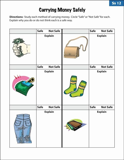 Functional Math Worksheets Special Education Free Empowered by them Life Skills Printables Google Search
