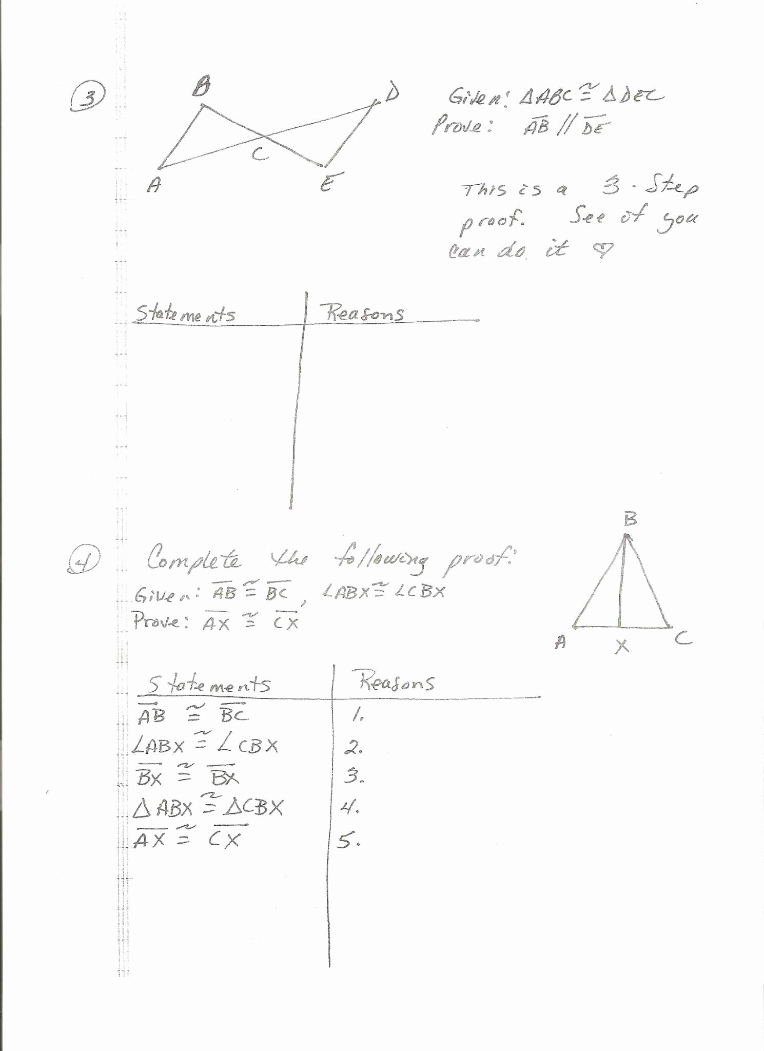 Geometric Proofs Worksheet with Answers Best Of Proofs Worksheet