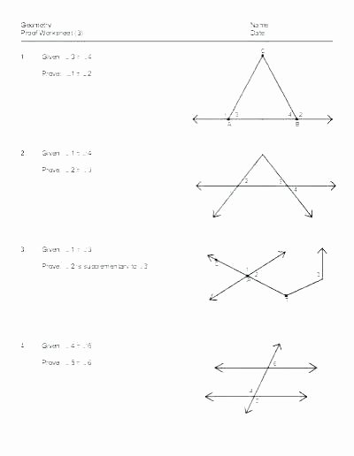 Geometric Proofs Worksheet with Answers Free High School Geometry Worksheets – Dailycrazynews
