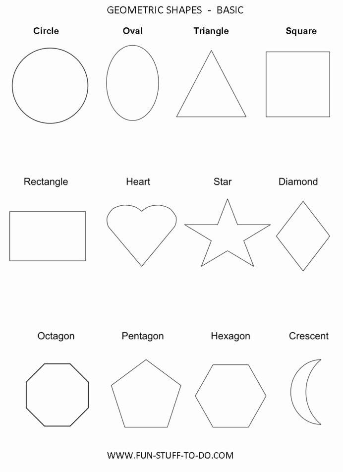 Geometric Shapes Worksheet 2nd Grade Free Grade 9 Math Help Free Geometric Shapes Worksheets Cloze
