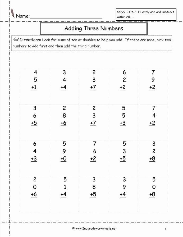 Geometric Shapes Worksheet 2nd Grade Lovely Free Math Worksheets and Printouts Subtraction 2nd Grade