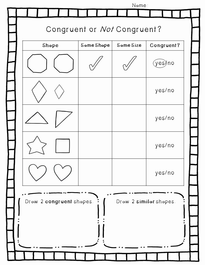 Geometric Shapes Worksheets 2nd Grade Free 2 D Geometry Pack