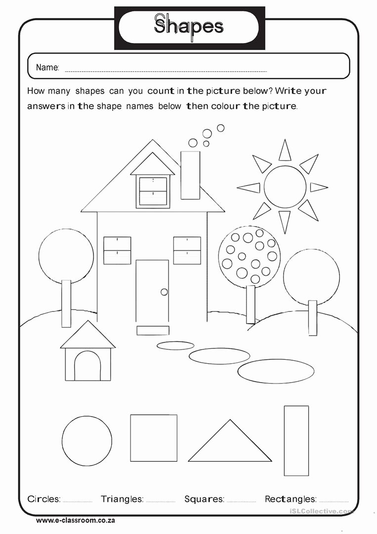 Geometric Shapes Worksheets 2nd Grade Fresh 2nd Grade Shapes Barbara Pentikis Lessons Tes Teach