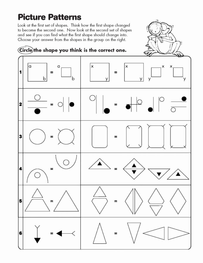 Gifted and Talented Math Worksheets Free Math Analogies Worksheets Worksheet Kindergarten Free for