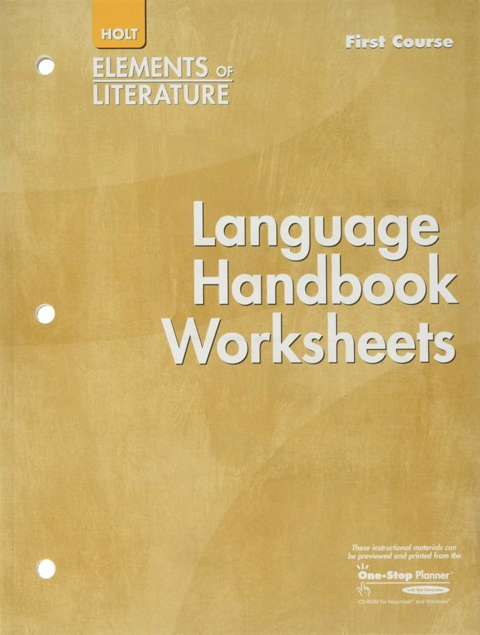 Grammar Usage and Mechanics Worksheets New Language Handbook Worksheets Additional Practice In Grammar