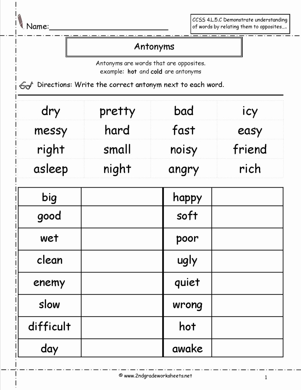 Grammar Worksheets for 2nd Grade Ideas Worksheet 2nd Grade Grammar Worksheets Free