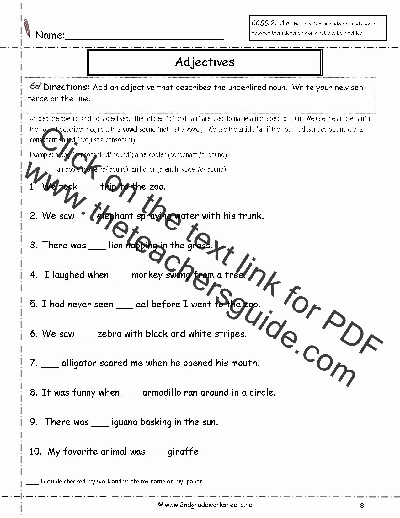 Grammar Worksheets for 2nd Grade Lovely Free Language Grammar Worksheets and Printouts
