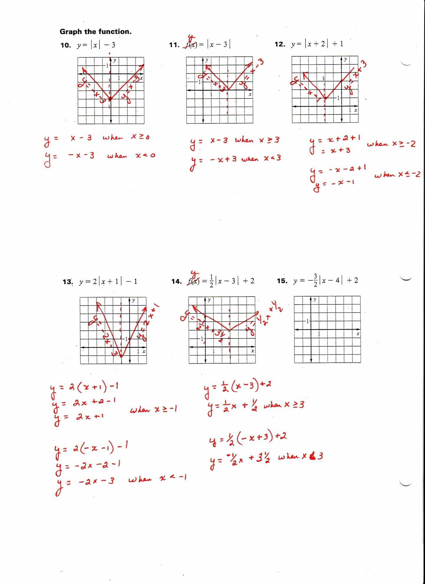Graphing Absolute Value Inequalities Worksheet Inspirational solve Absolute Value Inequalities Worksheet