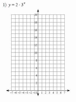 Graphing Exponential Functions Worksheet Answers Printable Graphing Exponential Functions Worksheets